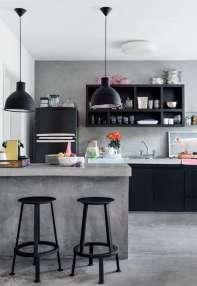 modelo-de-pendente-para-cozinha-preto